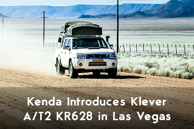 Kenda Introduces Klever A/T2 KR628 in Las Vegas