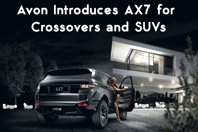 Avon Introduces AX7 for Crossovers and SUVs