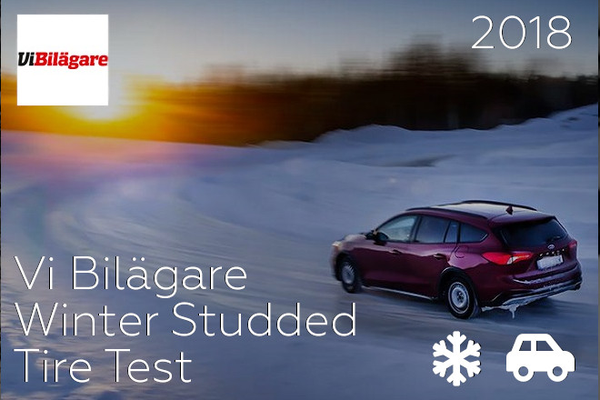 Vi Bilägare 2018: Winter Studded Tire Test