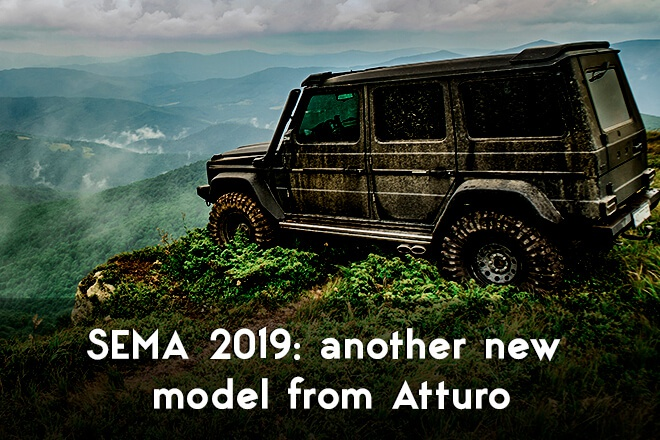 SEMA 2019: another new model from Atturo