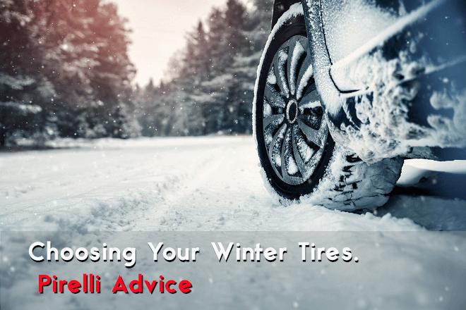 Choosing Your Winter Tires. Pirelli Advice