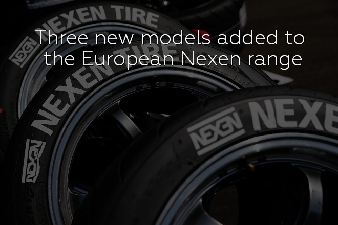 Three new models added to the European Nexen range