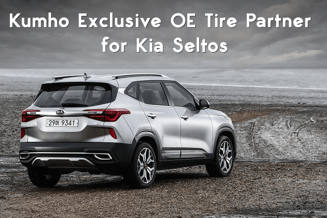 Kumho Exclusive OE Tire Partner for Kia Seltos