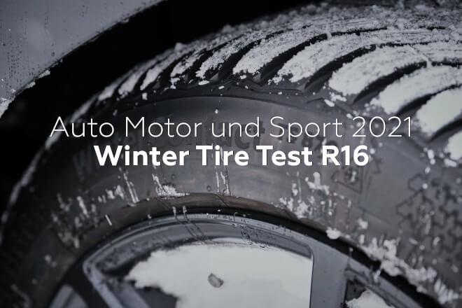 Auto Motor und Sport 2021: Winter Tire Test R16