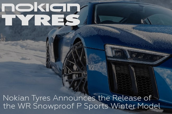 Nokian Tyres Announces the Release of the WR Snowproof P Sports Winter Model
