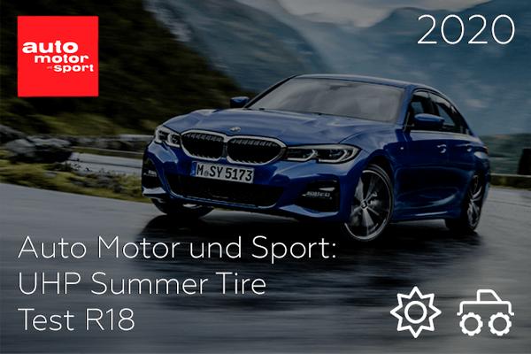 Auto Motor und Sport: UHP Summer Tire Test R18