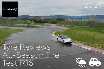 Tyre Reviews: All-Season Tire Test R16