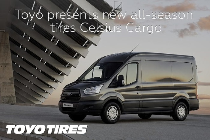 Toyo presents new all-season tires Celsius Cargo