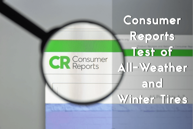 Consumer Reports: Test of All-Weather and Winter Tires (2018)