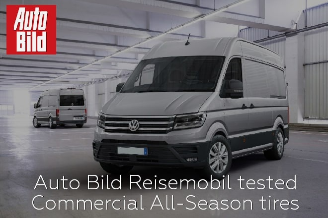 Auto Bild Reisemobil tested Commercial All-Season tires