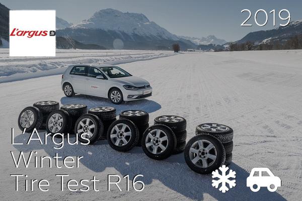 L'Argus: Winter Tire Test R16
