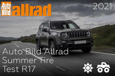 Auto Bild Allrad: Summer Tire Test R17