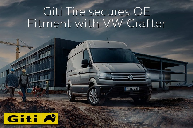 Giti Tire secures OE Fitment with VW Crafter