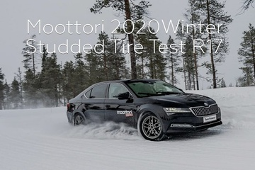 Moottori 2020: Winter Studded Tire Test R17