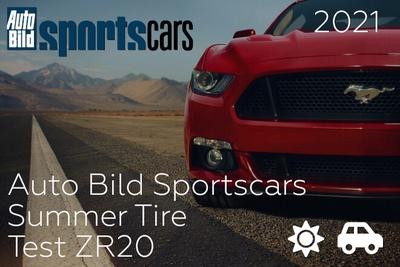 Auto Bild Sportscars: Summer Tire Test ZR20