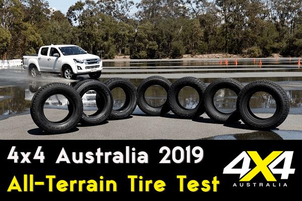 4x4 Australia 2019: All-Terrain Tire Test