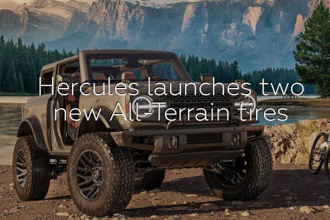 Hercules launches two new All-Terrain tires