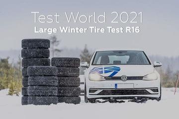 Test World 2021: Large Winter Tire Test R16