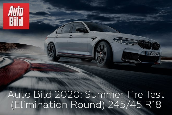 Auto Bild 2020: Summer Tire Test (Elimination Round)