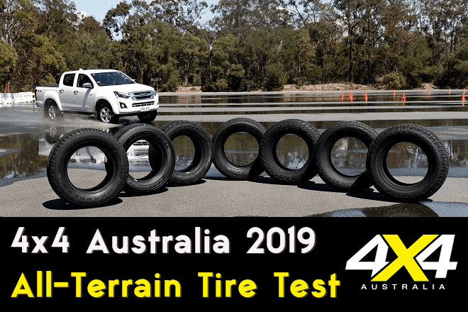 4x4 Australia 2019: All-Terrain Tire Test