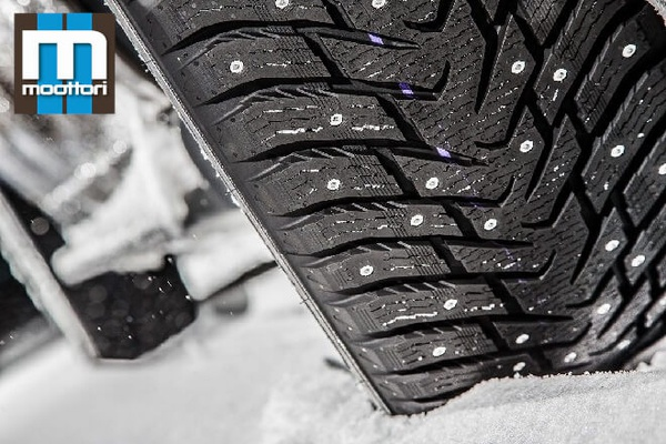 Moottori 2021: Winter Studded Tire Test in Size 205/55 R16