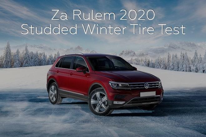 Za Rulem 2020: Studded Winter Tire Test