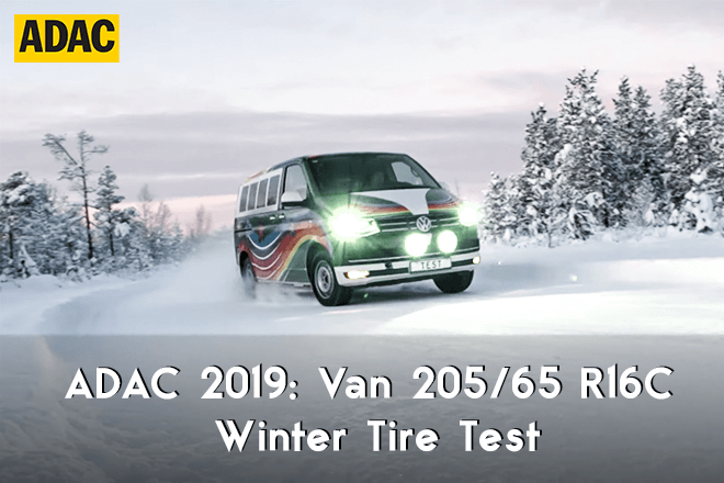 ADAC 2019: Van Winter Tire Test