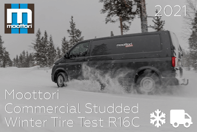 Moottori: Commercial Studded Winter Tire Test R16C