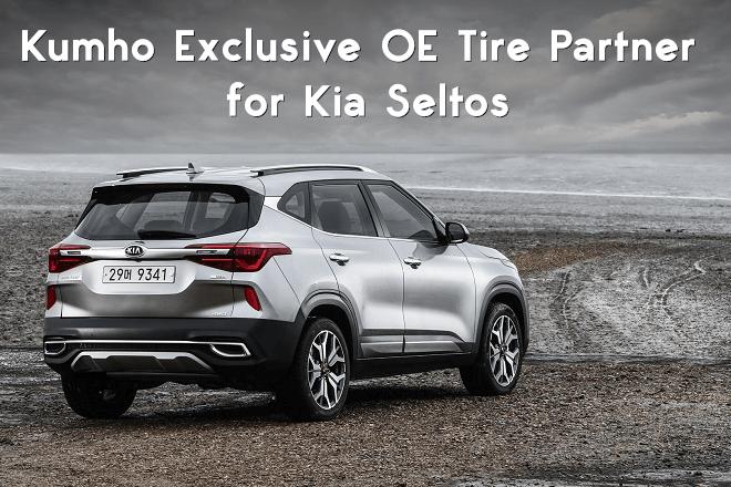 Kumho Exclusive OE Tire Partner for Kia Seltos