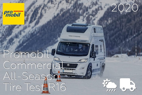 Promobil 2020: Commercial All-Season Tire Test R16