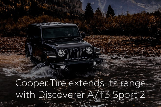 Cooper Tire extends its range with Discoverer A/T3 Sport 2