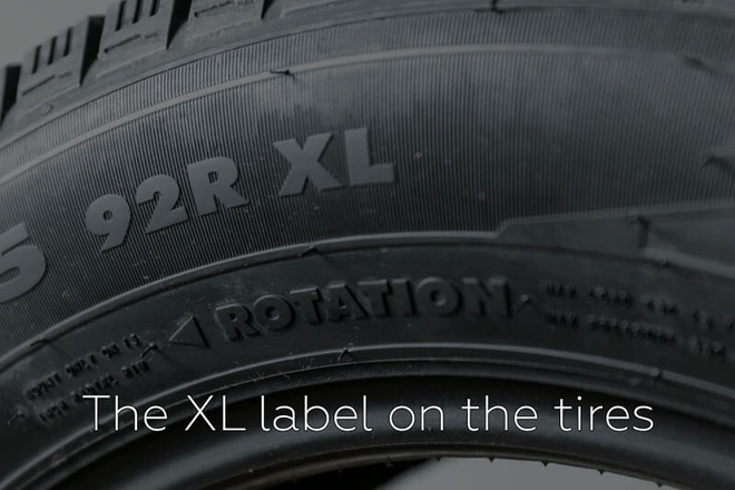 The constructive features of tires that bear an XL mark. Is there a difference?