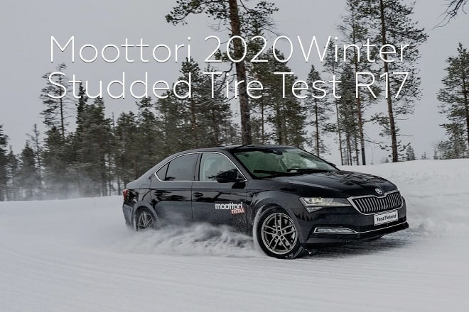 Moottori 2020: Winter Studded Tire Test R17