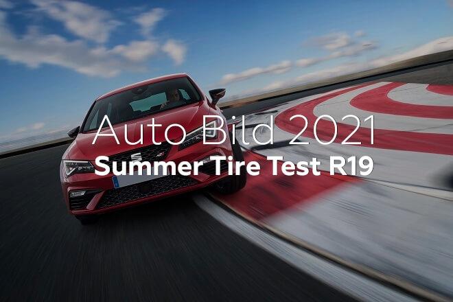 Auto Bild 2021: Summer Tire Test R19