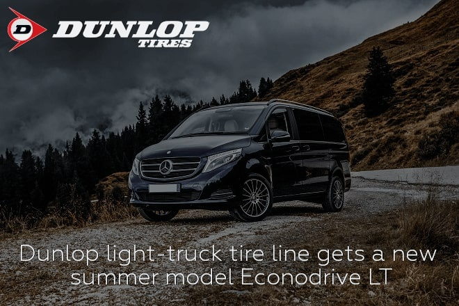 Dunlop light-truck tire line gets a new summer model Econodrive LT