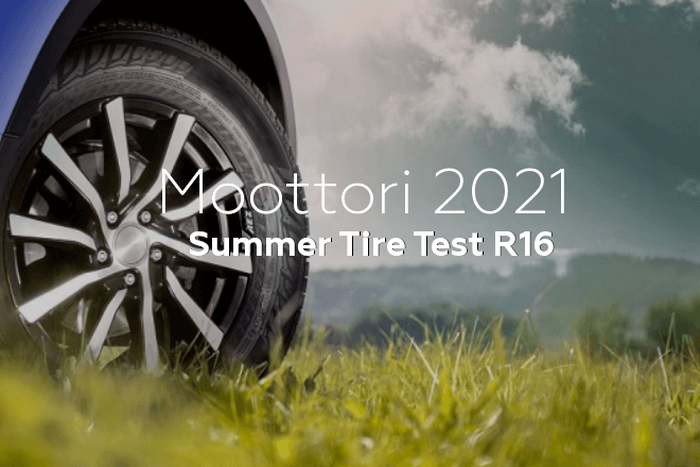 Moottori 2021: Summer Tire Test R16