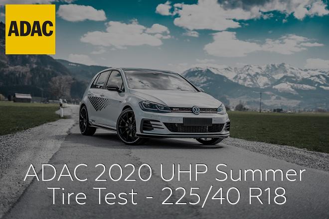 ADAC 2020: UHP Summer Tire Test - 225/40 R18