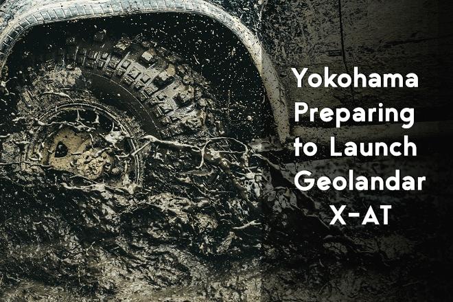 Yokohama Preparing to Launch Geolandar X-AT