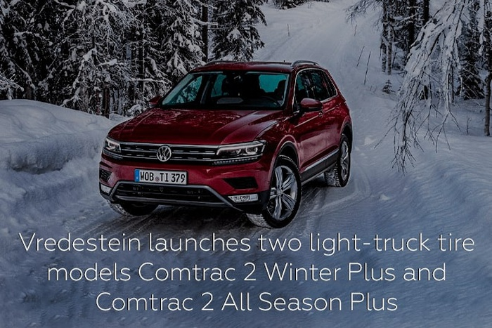 Vredestein launches light-truck tire models Comtrac 2 Winter+ and Comtrac 2 All Season+