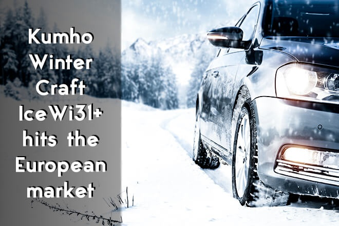 Kumho WinterCraft Ice Wi31+ hits the European market