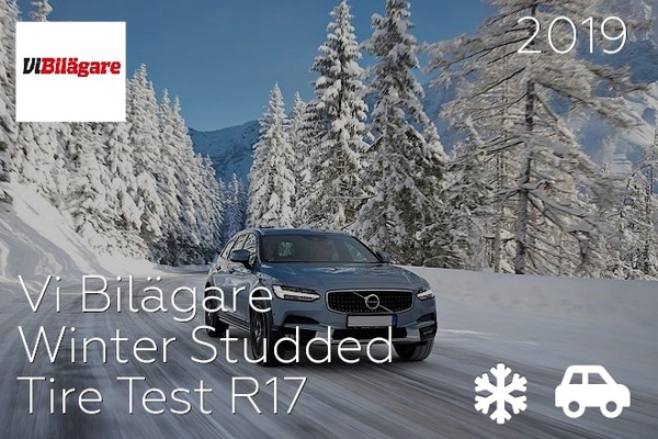 Vi Bilägare: Winter Studded Tire Test R17