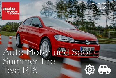 Auto Motor und Sport: Summer Tire Test R16