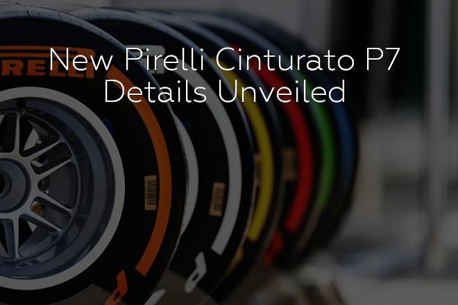 New Pirelli Cinturato P7 – Details Unveiled