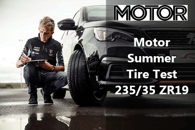 Motor 2019 Summer Tire Test – 235/35 ZR19