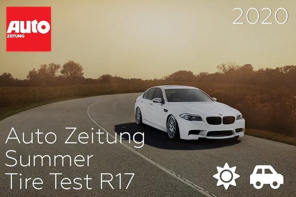 Auto Zeitung: Summer Tire Test R17