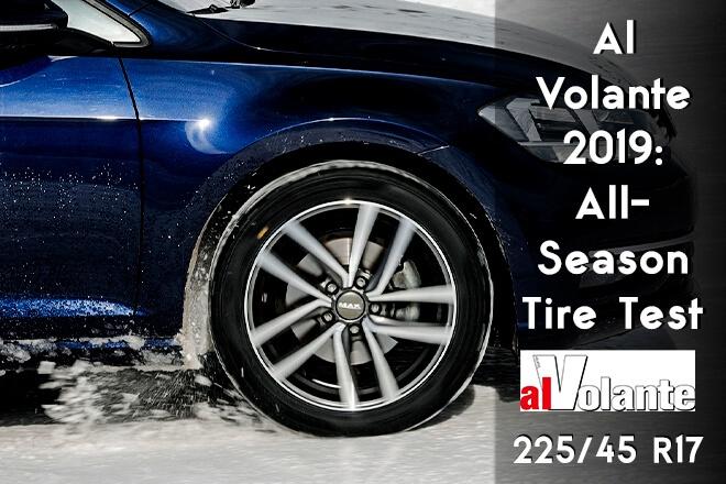 Al Volante 2019: All-Season Tire Test