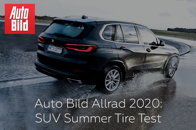 Auto Bild Allrad 2020: SUV Summer Tire Test