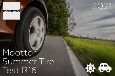 Moottori: Summer Tire Test R16