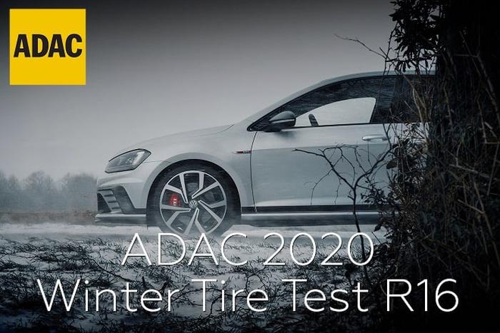 ADAC 2020: Winter Tire Test R16 for mid-class passenger cars