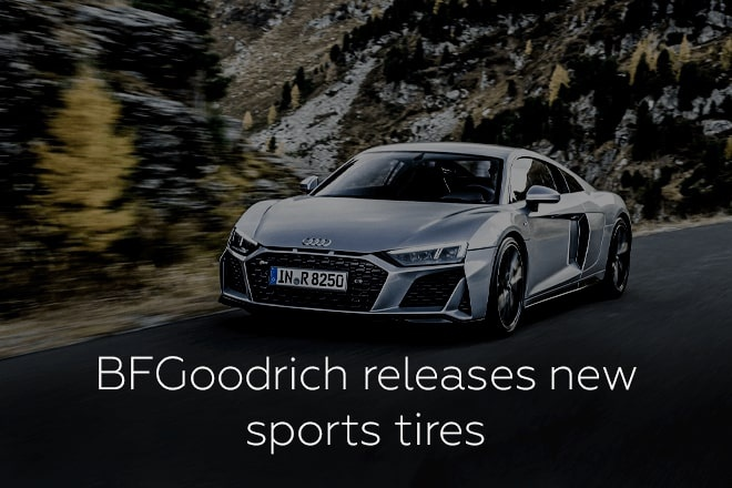 BFGoodrich releases new sports tires